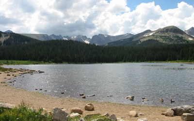 Colorado Lake and Pond Locations used for Filming
